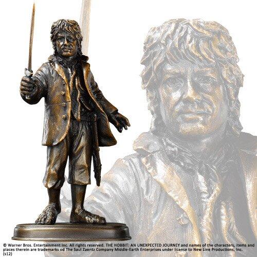 Figurka Bilbo Bagginsa z filmu Hobbit Noble Collection