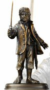 Figurka Bilbo Bagginsa z filmu Hobbit Noble Collection