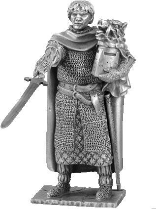 Figurka Galahad - Rycerze Okrągłego Stołu - Les Etains Du Graal