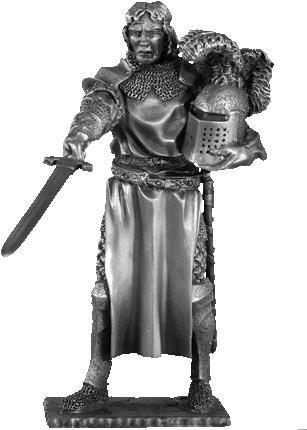 Figurka Tristan - Rycerze Okrągłego Stołu - Les Etains Du Graal