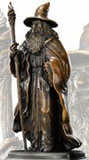 Figurka Gandalfa z filmu Hobbit Noble Collection (NN1208)
