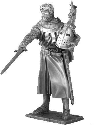 Figurka Hector - Rycerze Okrągłego Stołu - Les Etains Du Graal