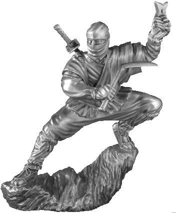 Figurka Ninja - Les Etains Du Graal