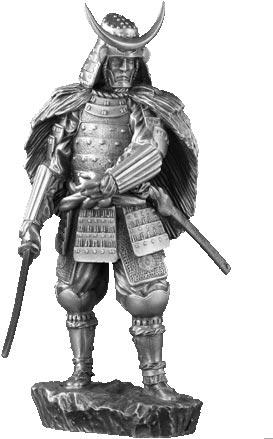Figurka Samuraj XVI w - Les Etains Du Graal