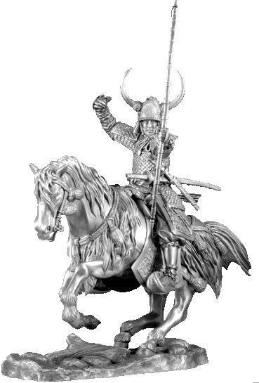 Figurka Samuraj na koniu Warlord - Les Etains Du Graal