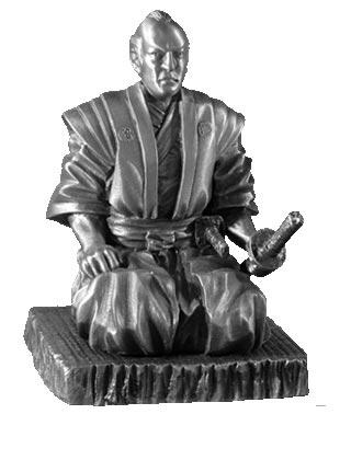 Figurka Samuraja Shogun Master - Les Etains Du Graal