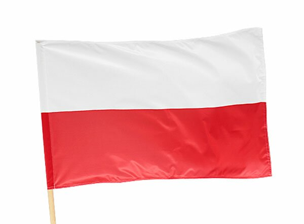 Flaga Polski 70x112 cm