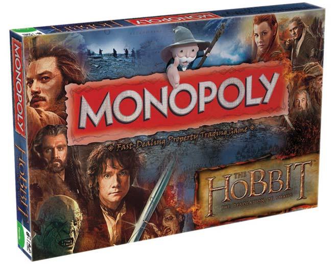 Gra Monopoly z filmu Hobbit Desolation of Smaug - wersja angielska
