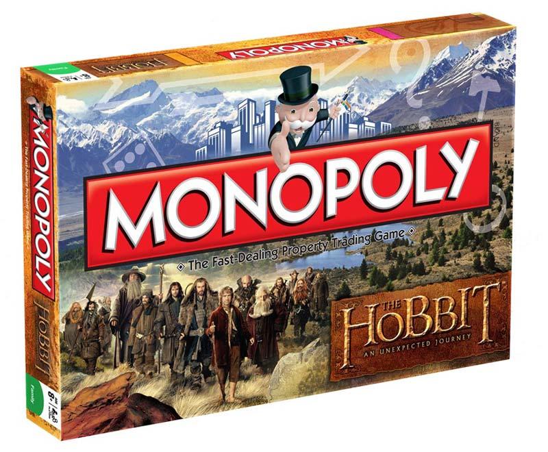 Gra Monopoly z filmu Hobbit Unexpected Journey - wersja angielska