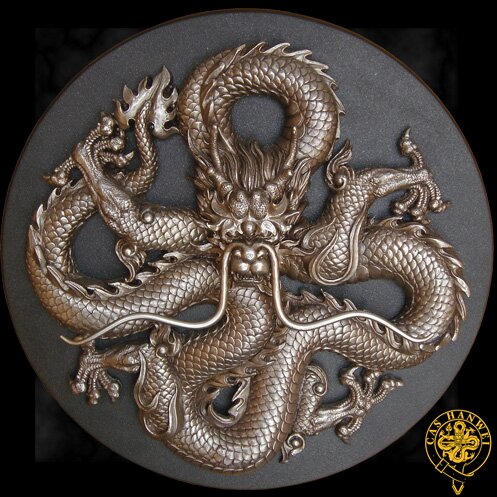Hanwei Dragon Plaque
