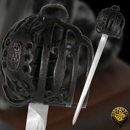 Hanwei Mini Scottish Basket-Hilt Sword