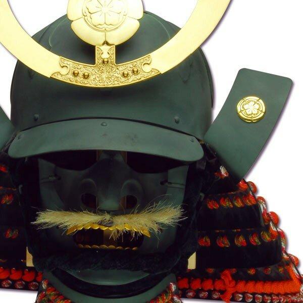 Hełm samuraja - Oda Nobunaga Kabuto & Mempo
