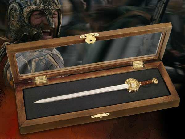 Herugrim Miniaturka Miecza z filmu Władca Pierścieni - LOTR Letter Opener Herugrim