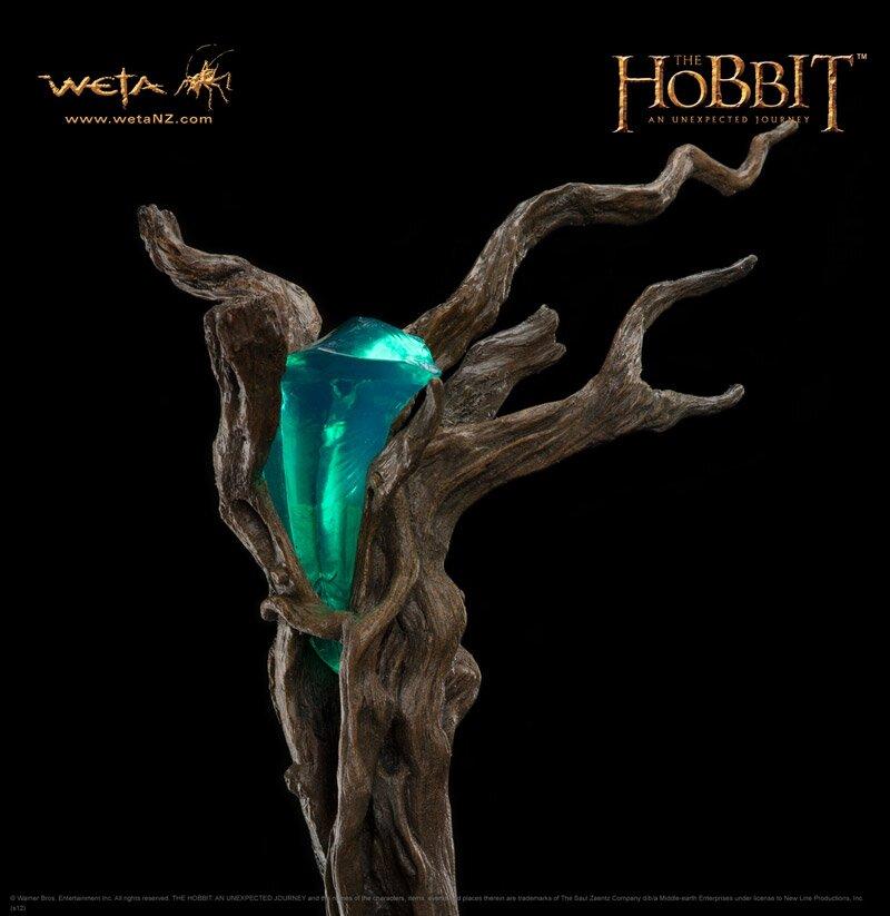 Hobbit - Kostur Radagasta Burego - Weta Staff of Radagast the Brown