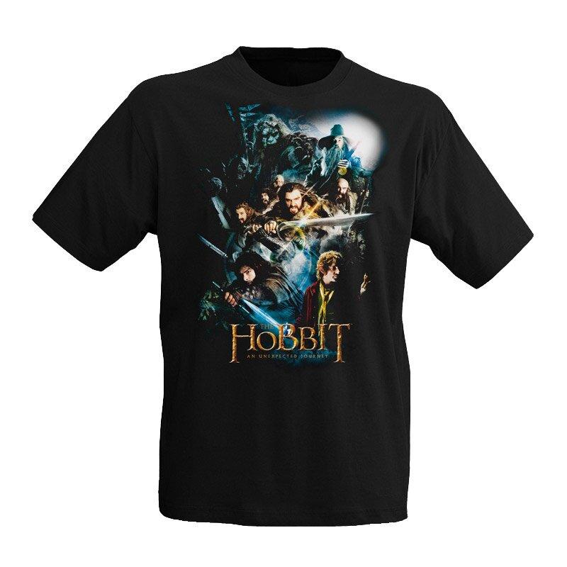 Hobbit - Koszulka Collage