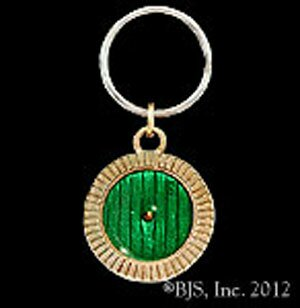 Hobbit Brelok z Brązu - Bronze Bag End Door Key Chain