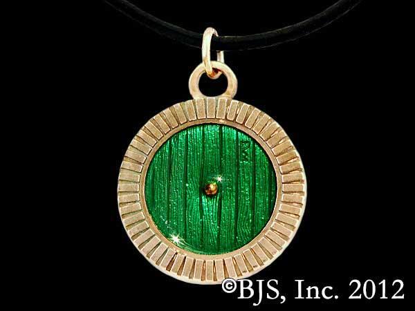 Hobbit Wisiorek Bronze Bag End Door Necklace