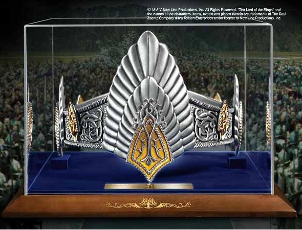 Korona Aragorna z filmu Władca Pierścieni - The King Elessar Crown LOTR