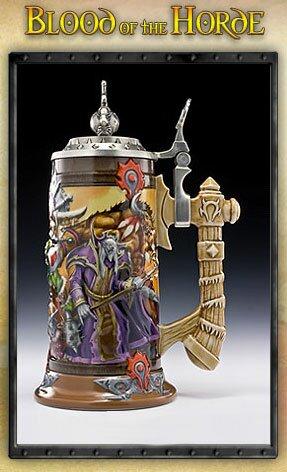 Kufel do piwa z gry World Of Warcraft Blood of the Horde