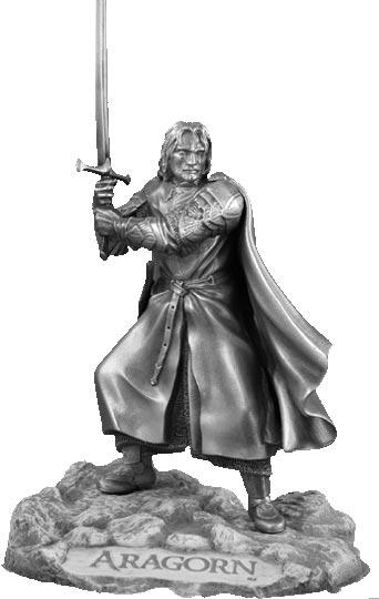 LOTR Figurka Aragorn - Les Etains Du Graal