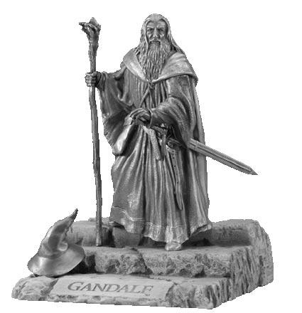 LOTR Figurka Gandalf - Les Etains Du Graal