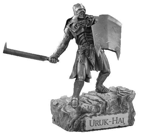 LOTR Figurka Uruk Hai - Les Etains Du Graal