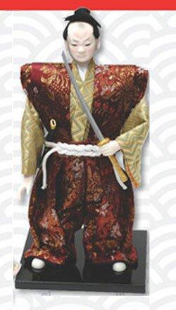 Lalka Samuraj z kataną