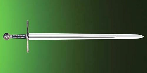 Licencjonowany Miecz z filmu Robin Hood Ridleya Scotta