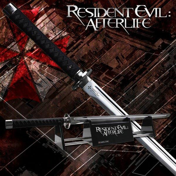 Miecz z filmu Resident Evil Afterlife