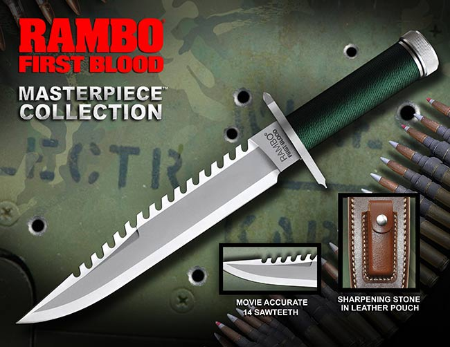 Nóż Rambo I Standard Edition Hollywood Collectibles Group