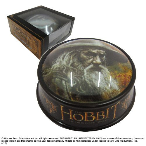 Przycisk do papieru z Gandalfem z filmu Hobbit Noble Collection