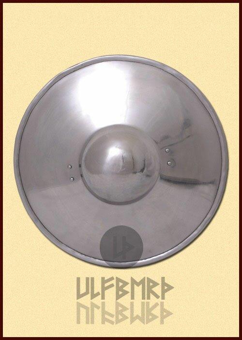 Puklerz stalowy gładki Plain Buckler