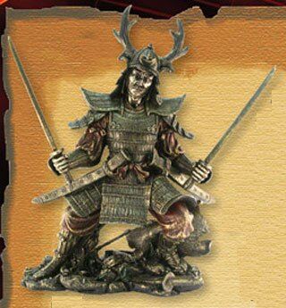 Samuraj z dwoma katanami