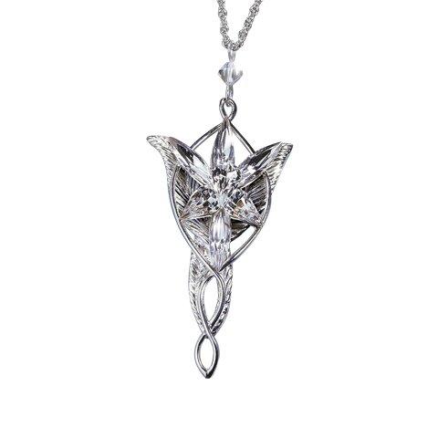 Srebrny wisiorek Arweny - LOTR Arwen`s Evenstar Pendant