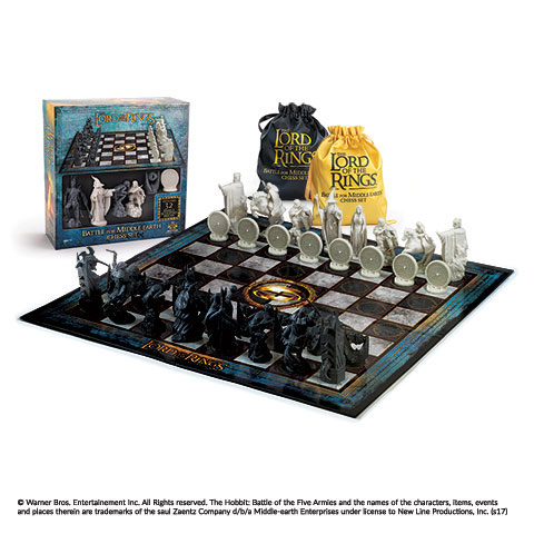 Szachy Władca Pierścieni Battle for Middle-Earth