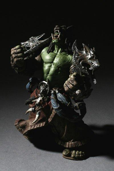 World Of Warcraft, Orc Shaman: Rehgar Earthfury Collector Figure