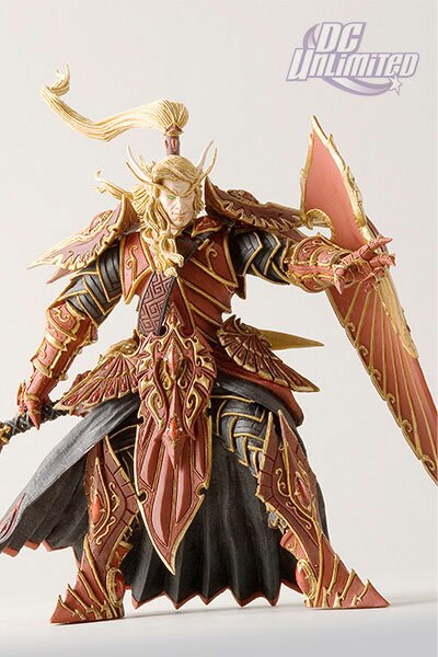 World Of Warcraft, Series 3: Blood Elf Paladin: Quin'thalan Sunfire Action Figure