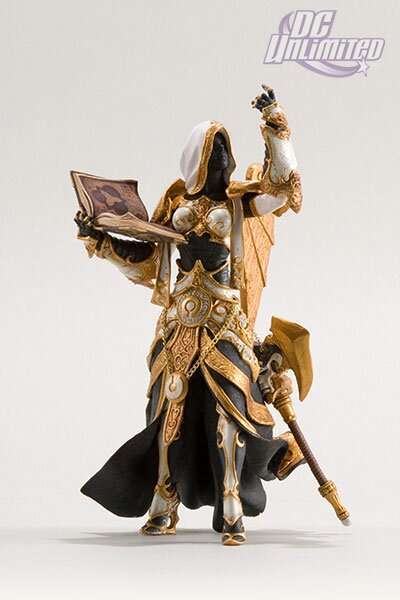 World Of Warcraft, Series 3: Human Priestess: Sister Benedron Action Figure