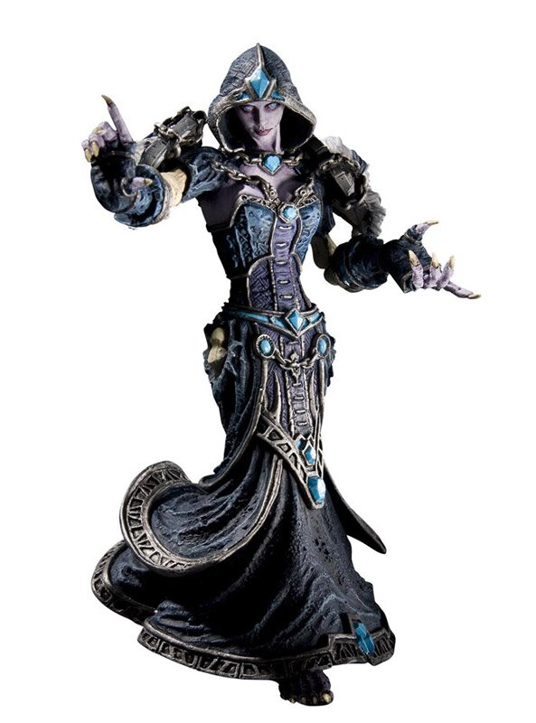World of Warcraft Series 8 Action Figure Forsaken Priestess Confessor Dhalia